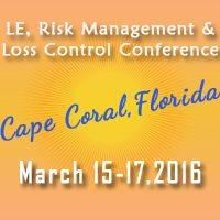 2016 LE,Risk Management & Loss Control Conference