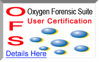 Oxygen Forensic Suite User Certification webinar training