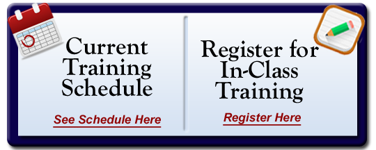 View PATC Training Schedule and Sign Up for Classes