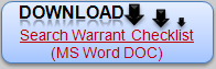 Download MS Word DOC Sample Search Warrant Checklist