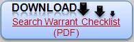 Download PDF Sample Search Warrant Checklist