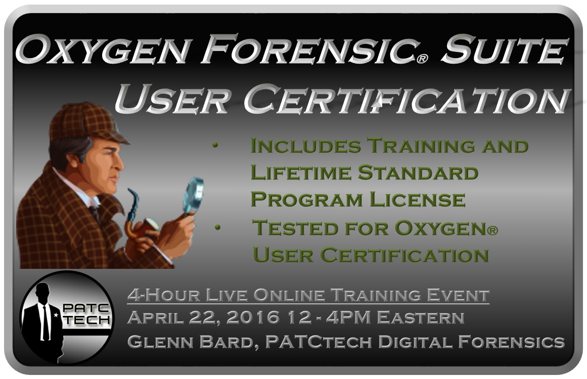 Oxygen Forensic® Suite Basic Certification
