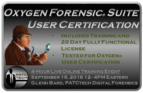 Oxygen Forensic Suite User Certification